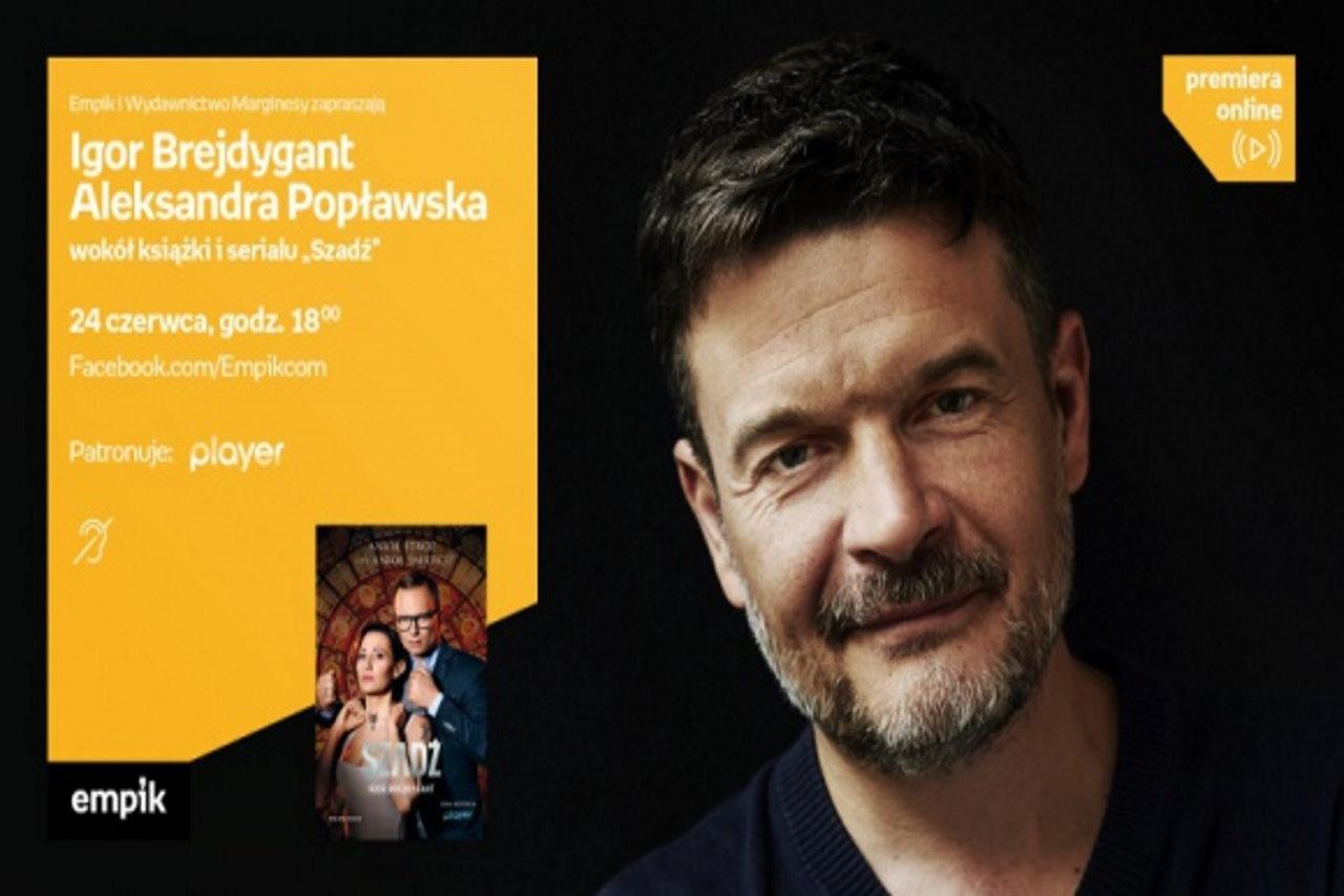 """Igor Brejdygant i Aleksandra Popławska odpowiedzą na pytania o """"Szadź"""""""