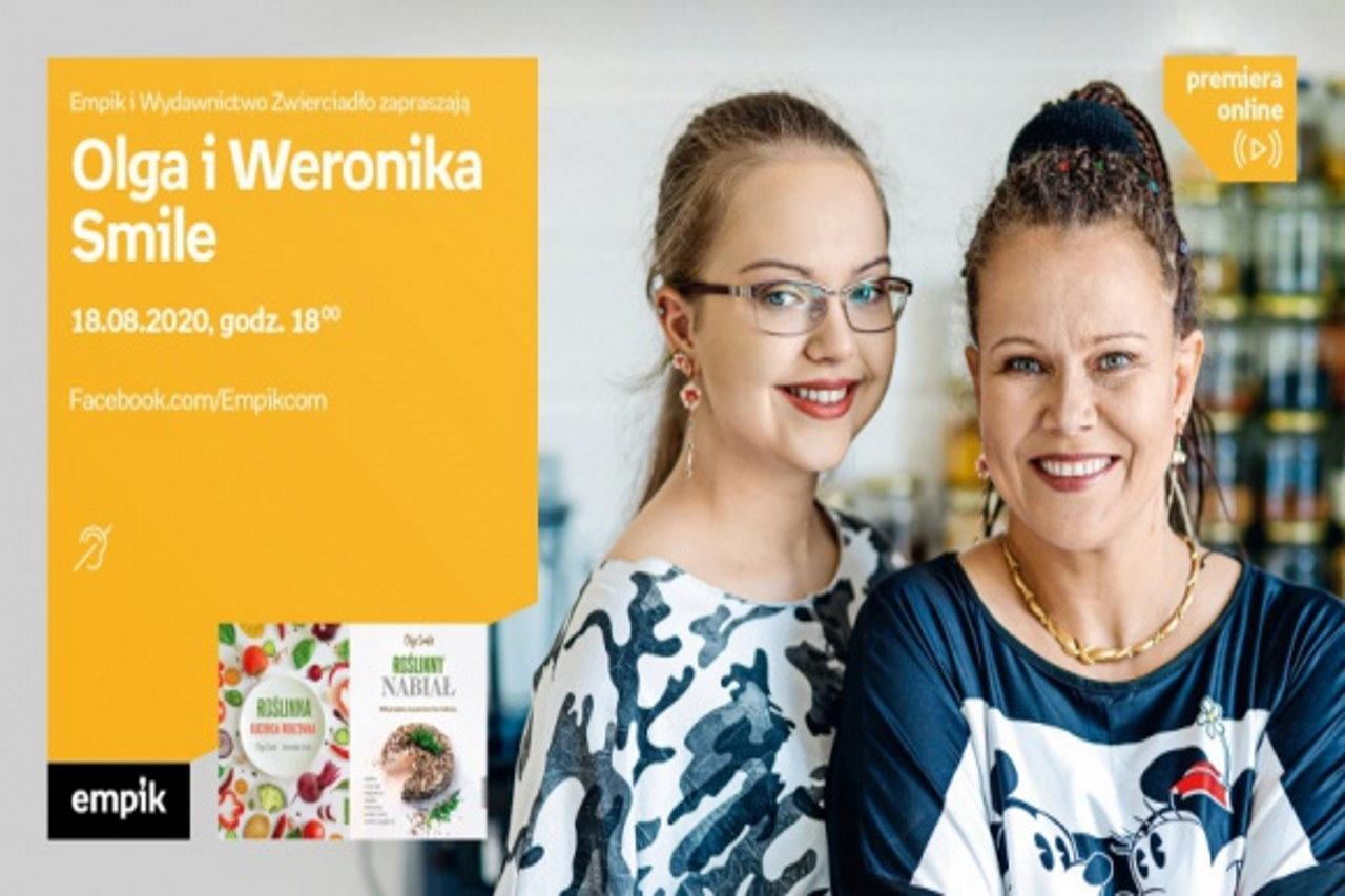 Olga i Weronika Smile oraz Jerzy Bralczyk na spotkaniach autorskich online